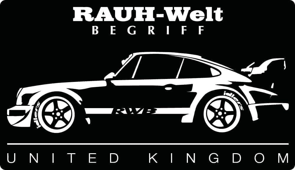 Rwb Uk Rauh Welt Begriff Bumper Sticker