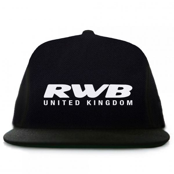 Rauh Welt Begriff RWB UK Graphic Black Snapback Hat