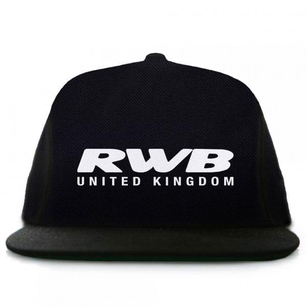 Rauh Welt Begriff RWB UK Graphic Black Snapback Hat