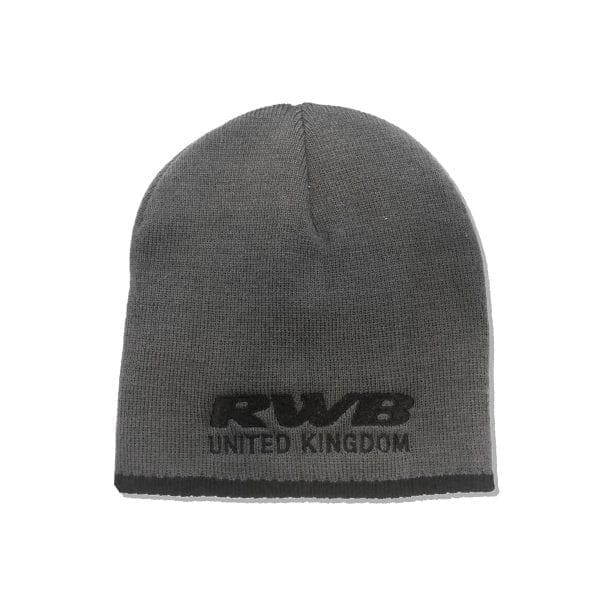 RWB UK Grey Beanie Hat